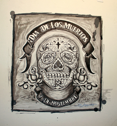 Dia de los Muertos by Job Moscot
