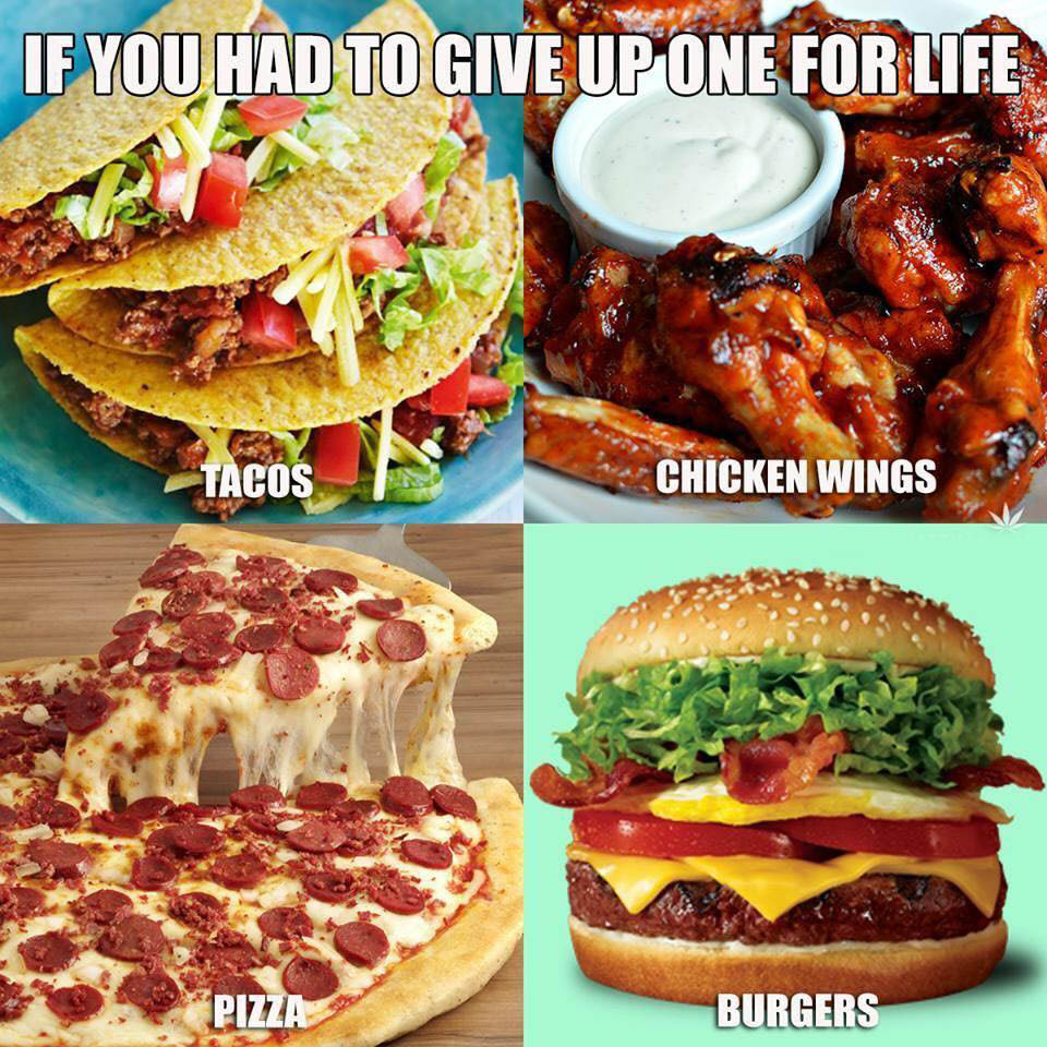 What food to give up? - BrownPride Forums