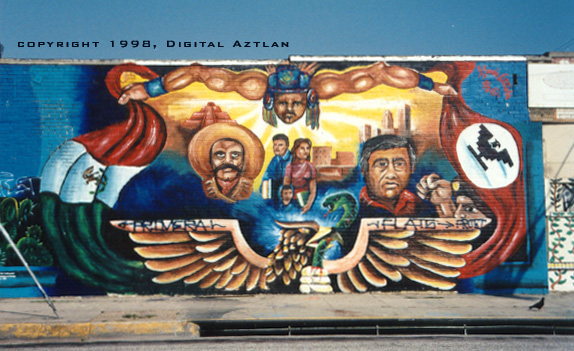 Rodolfo corky gonzales for Chicano mural art