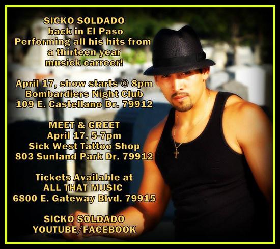 Sicko Soldado : Dead Silence Records